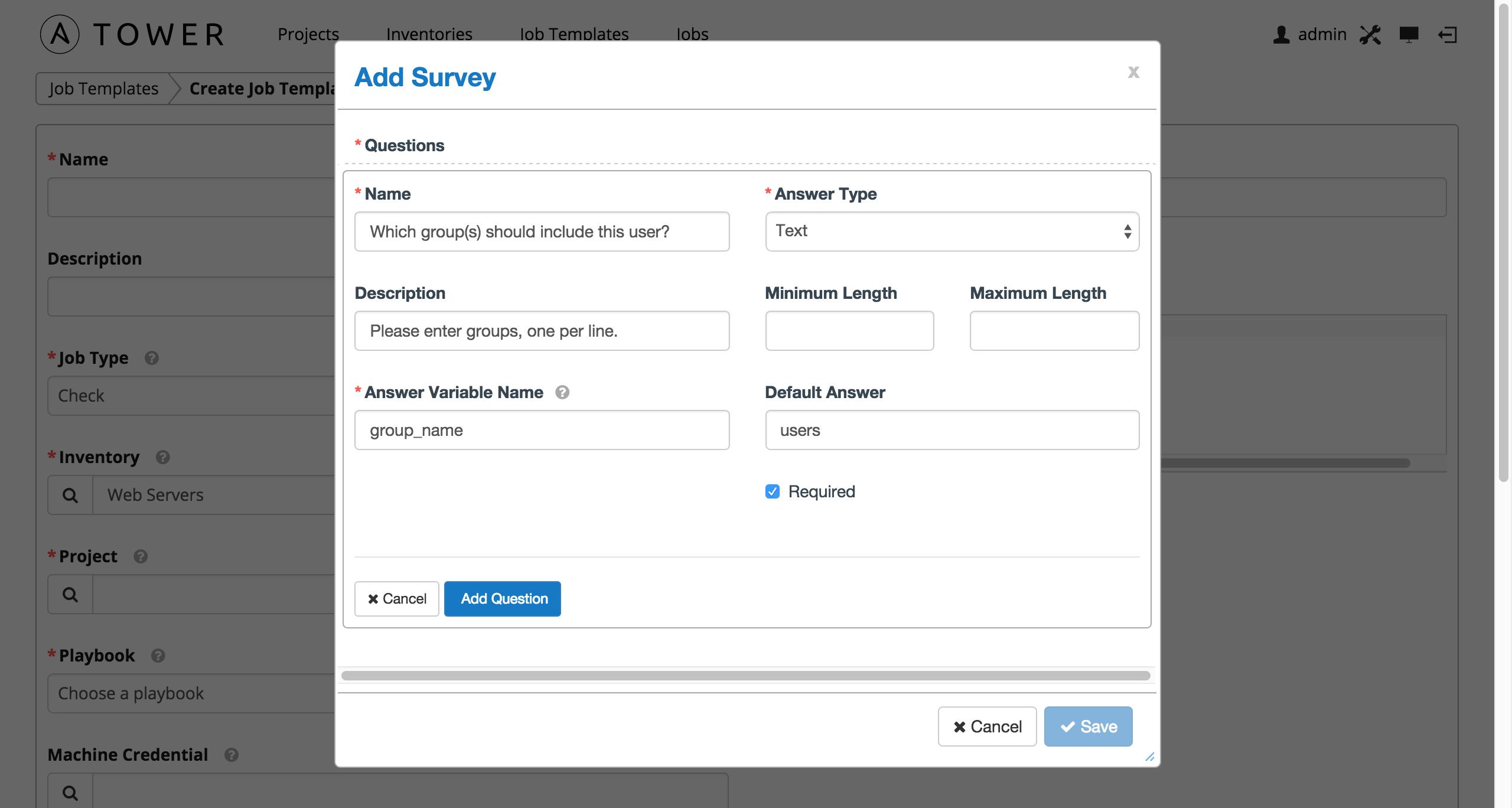 templates for surveys