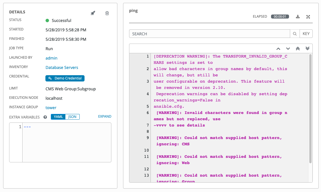 15  Inventories — Ansible Tower User Guide v3 5 0