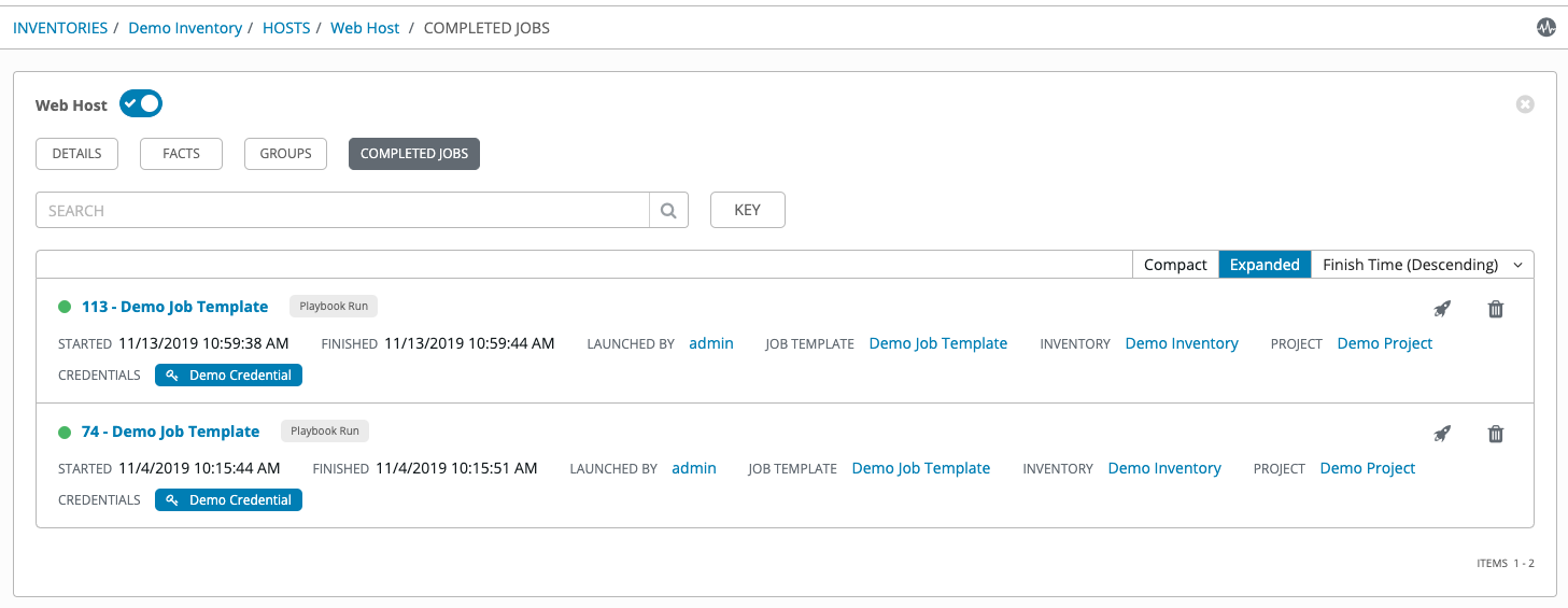 15  Inventories — Ansible Tower User Guide v3 5 2